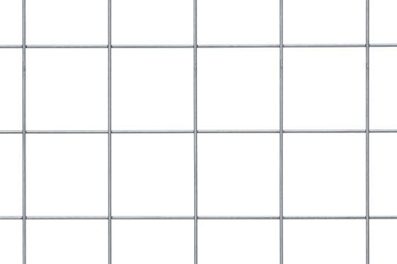 geschweißte Gitter Stahl S 235 JRG MW 100 x 100 x 5 mm in Matten