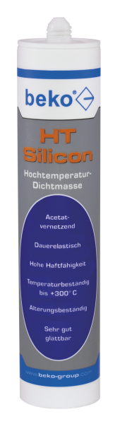 Beko HT-Silicon (Hochtemperatursilicon) dunkelrot