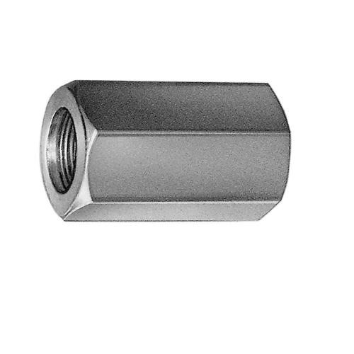 Langmuttern Gewindemuffen galvanisch verzinkt DIN 6334 Außensechskant