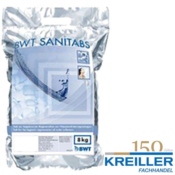BWT Sanitabs Hygienesalz / Regeneriersalz, 8 kg Sack