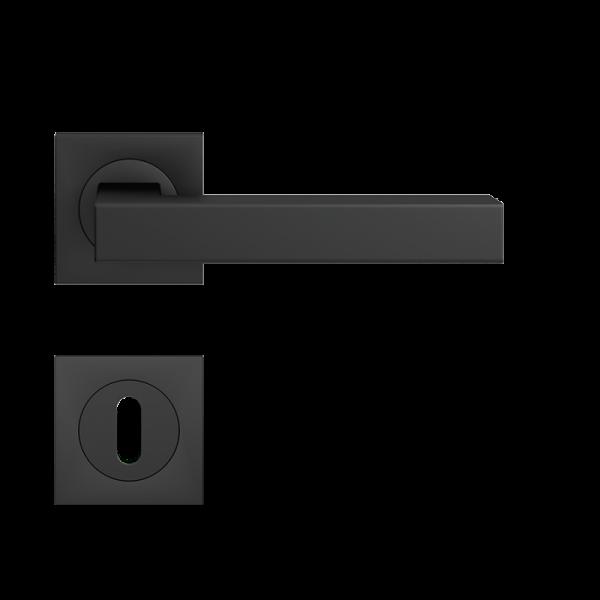 Karcher Rosettengarnitur Seattle ER24, Kosmos schwarz (quadratisch)
