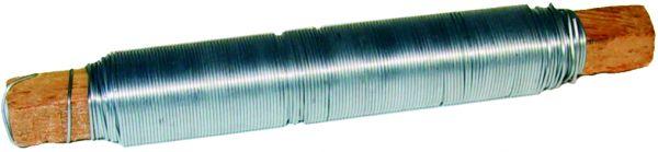Bindedraht 0,65 mm verzinkt auf Holzstäbchen
