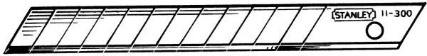 Ersatzklingen zu Universalmesser / Papiermesser SM
