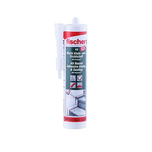 Fischer KD Multi Kleb / Dichtstoff 290ml weiß
