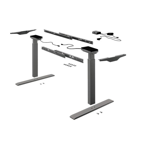 Tischgestell Change Top Eco, schwarz