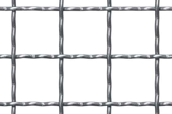 Wellengitter aus Stahl S 235 JRG Maschenweite 52 x 52 x 5 mm