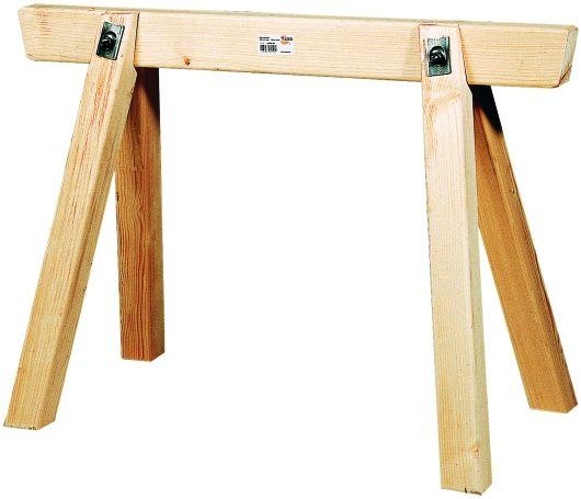 Bauschrage Holz 120x70 cm