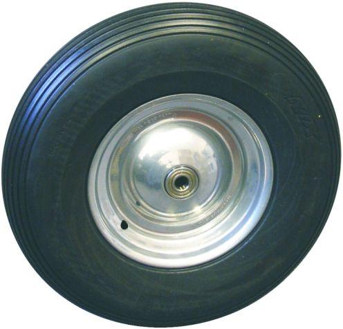 Müba Polymeres Schiebekarrenrad 400 x 100 mm mit Achse