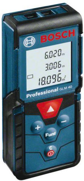Bosch-Laserentfernungsmesser GLM 40 PROFESSIONAL