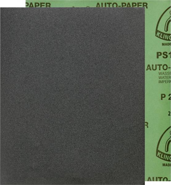 Klingspor K240 230x280 mm Schleifpapier PS 11 A, wasserfest 100 Sück