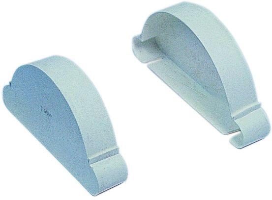 Kunststoff-Trenndeckel weiß