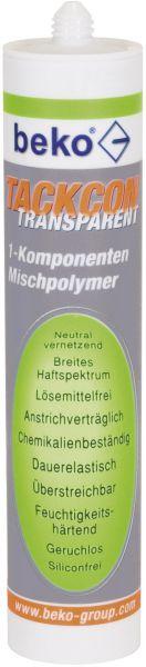 beko 1-K TackonKleber transparent Mischpolymer