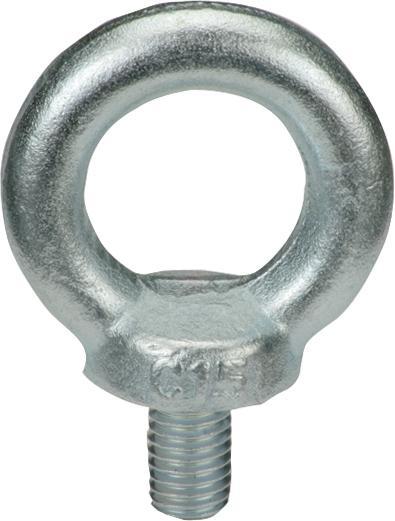 Ringschraube DIN 580 C15 E galvanisch verzinkt Ringbolzen Metrisch M6 - M24