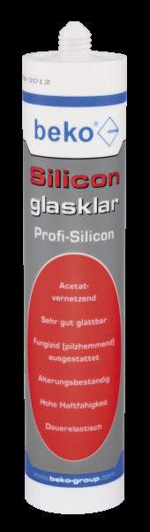 BEKO Silicon glasklar, Hochtransparente Dichtmasse