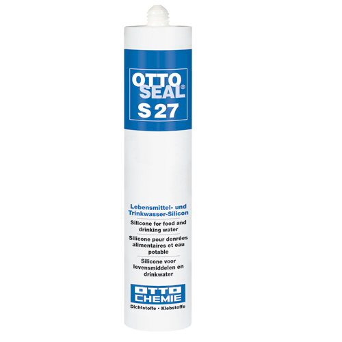 Otto seal S27 Das Lebensmittel- und Trinkwasser-Silicon 310ml Silikon