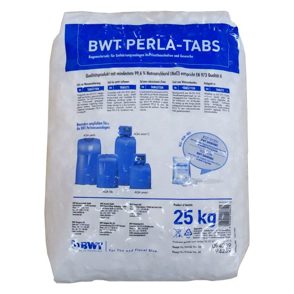 BWT Regeneriermittel-Tabs 25 kg, Sack