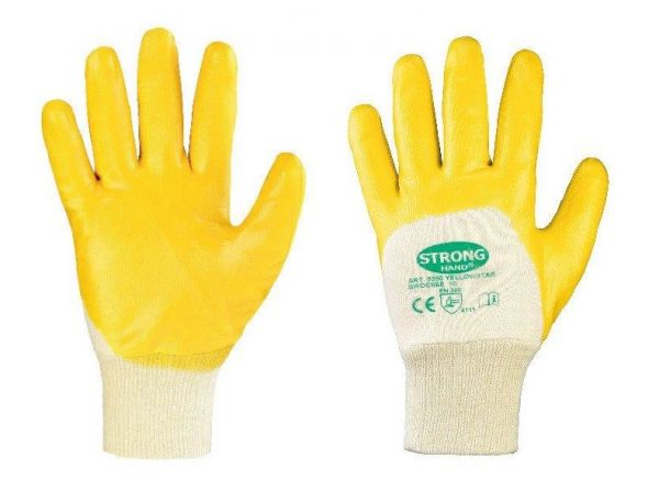 Nitril-Handschuhe gelb Gr. 10 gelb