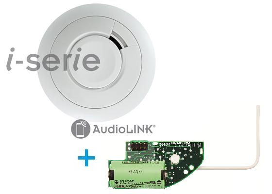 Rauchwarnmelder Ei650iW (funkvernetzbar) mit AudioLINK Funktion